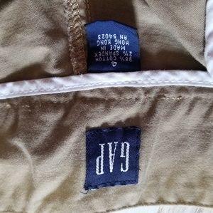 Juniors khacki gap shorts